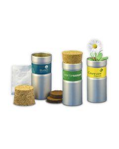 Green & Good Desktop Garden Tube - Recycled Aluminium
