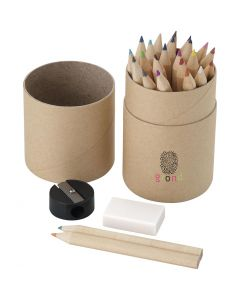 Woodby 26-Piece Coloured Pencil Set