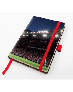Designer Pocket Casebound Notebook With Elastic Strap & Pen Loop