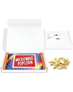 Postal Packs - Midi Postal Box - Microwave Popcorn - Microwave Popcorn DP