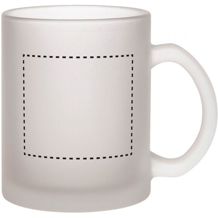 Promotional Budget Buster Frosted Glass Mug from Fluid ...