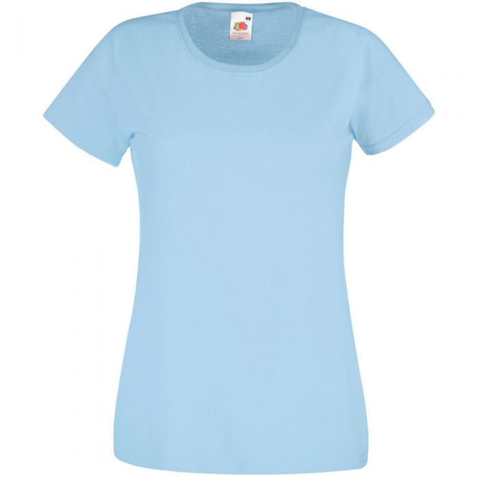 Fruit of the Loom 3 T-Shirt Donna Valueweight