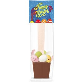 Easter - Info Card - Hot Choc Spoon
