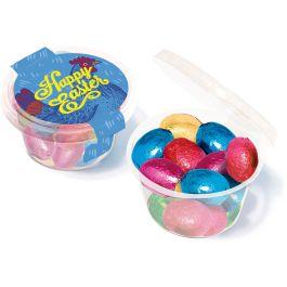 Easter - Eco Maxi Pot - Foiled Chocolate Eggs