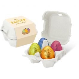 Easter - Egg Box - Gold foiled egg - x4