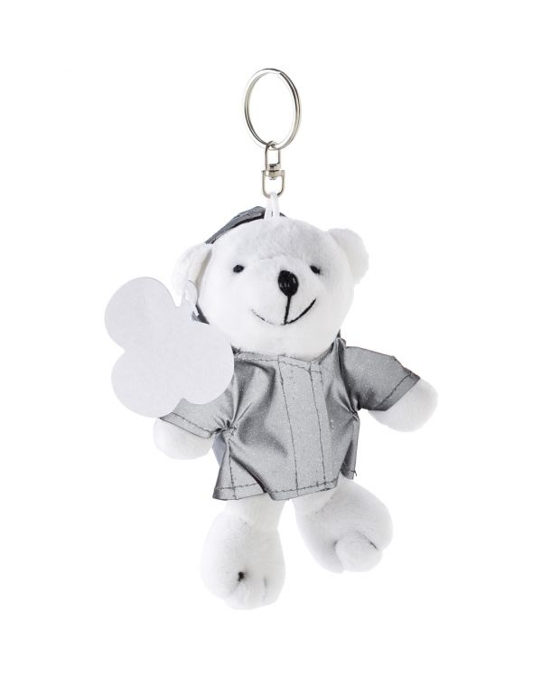 Plush Bear With Reflective Hoodie