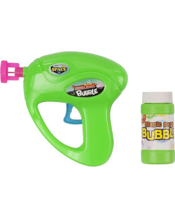 Bubble Gun With Fluid