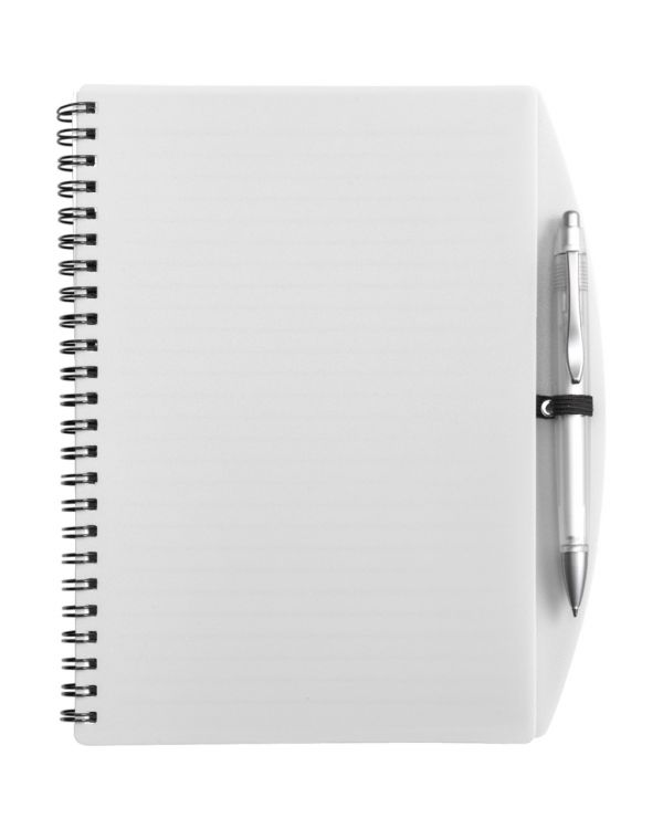 A5 Wire Bound Notebook And Ballpen