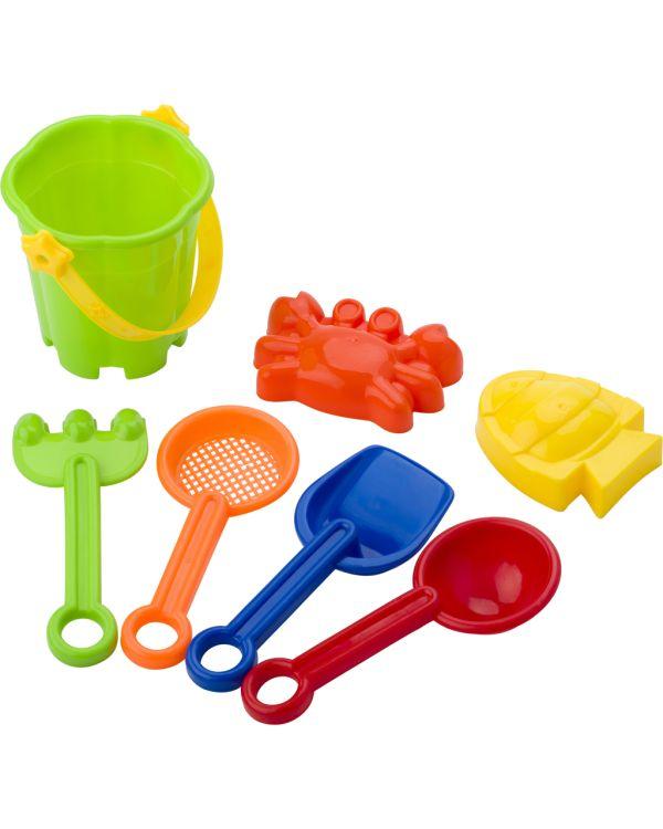 Mini Beach Bucket In Four Colours