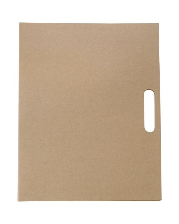 Folder With Natural Card Cover