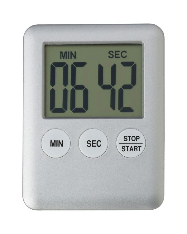 Plastic Digital Print Kitchen Timer