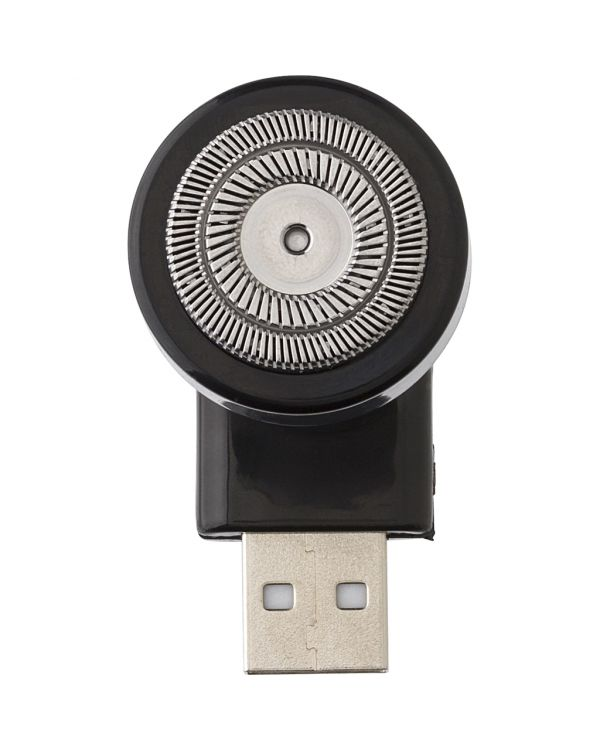 Shaver with USB connection
