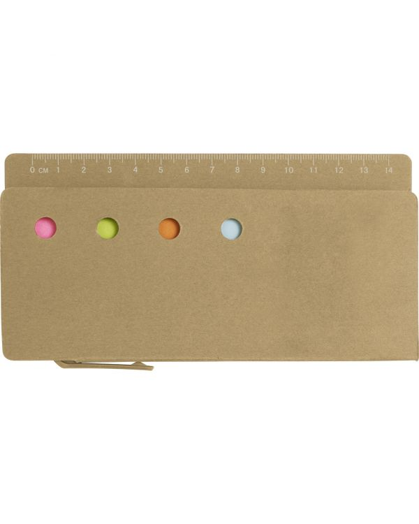 Cardboard Holder With Ruler (13Cm)