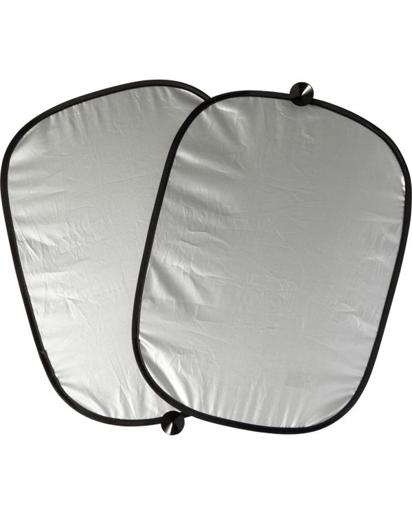 Set Of Two Polyester Sun Screens
