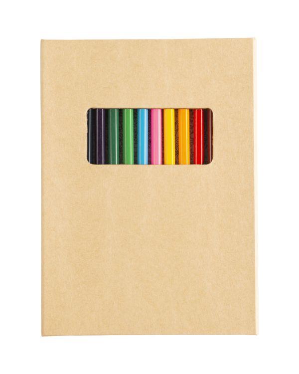 Cardboard Colouring Folder