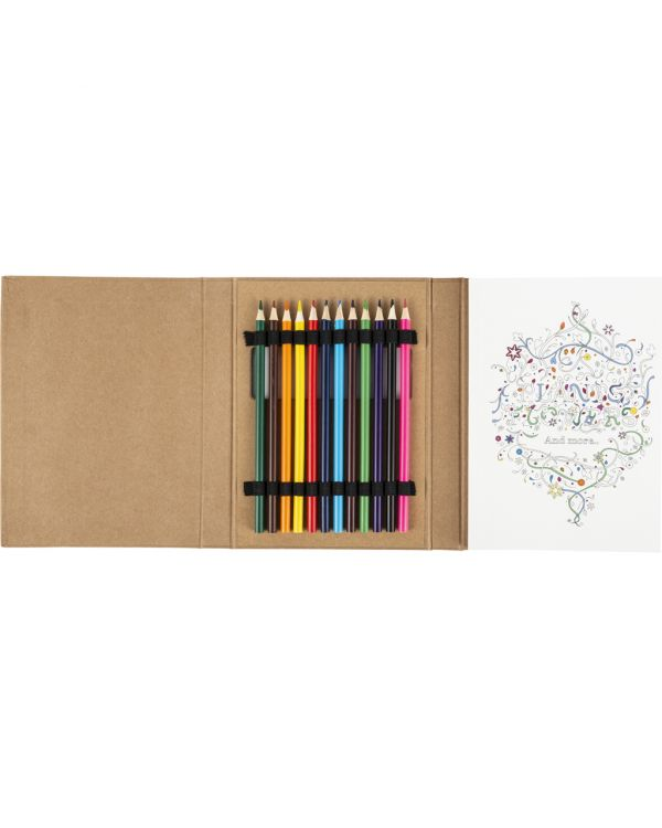 Colouring Folder For Adults