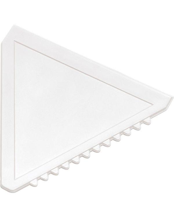 Triangular Plastic Ice Scraper