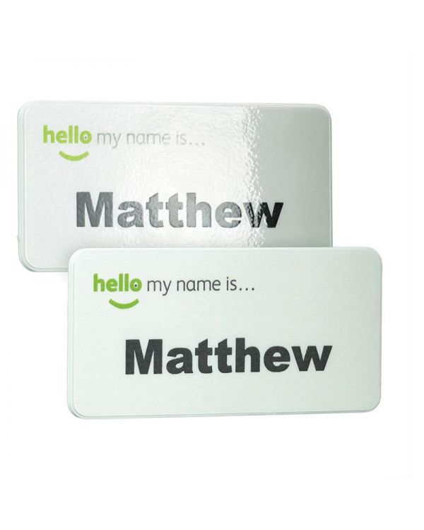 Keepsafe Eco Antimicrobial Name Badge