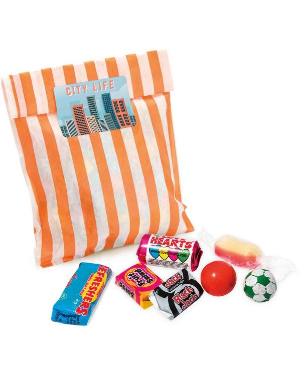Candy Bag - Retro Sweets - Large