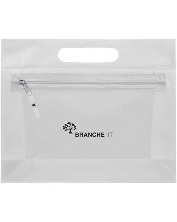 Paulo Transparent Pvc Toiletry Bag
