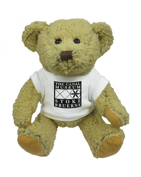 8Inch Korky Bear With T Shirt