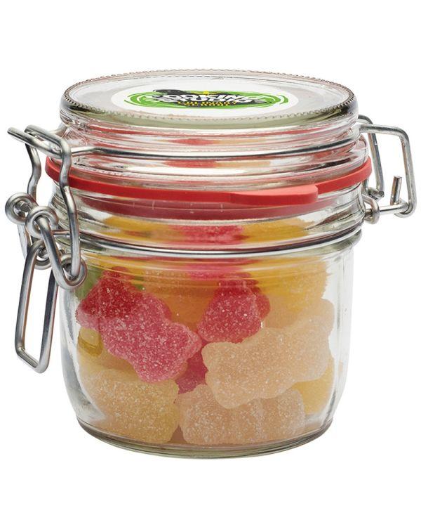 Glass Jar Of Sweets (125ml)