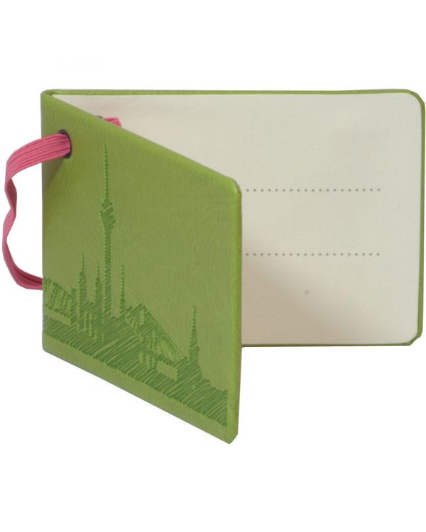 Notebook Style Luggage Tag