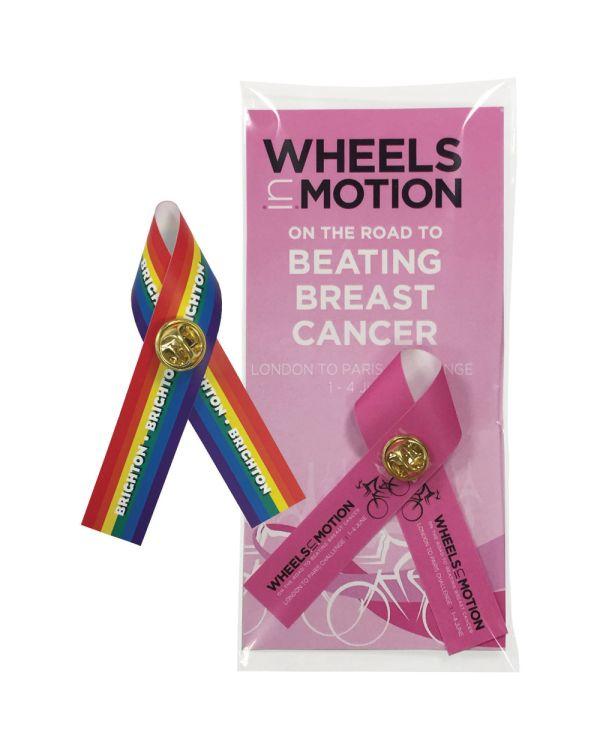 Full Colour Polysoft Campaign Ribbon