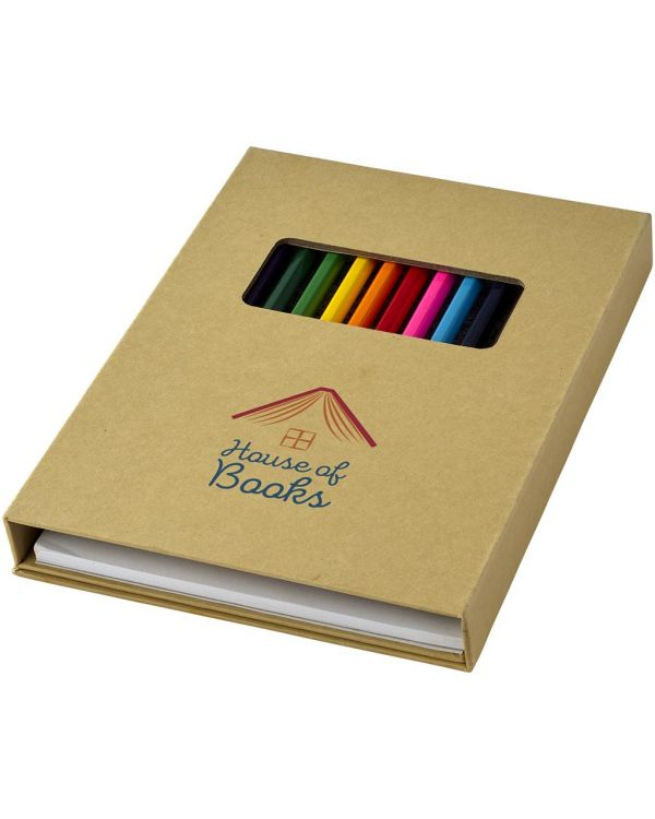 Pablo Colouring Set With Drawing Paper