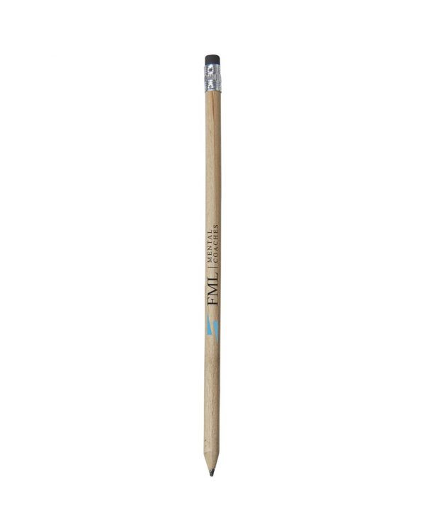 Cay Wooden Pencil With Eraser