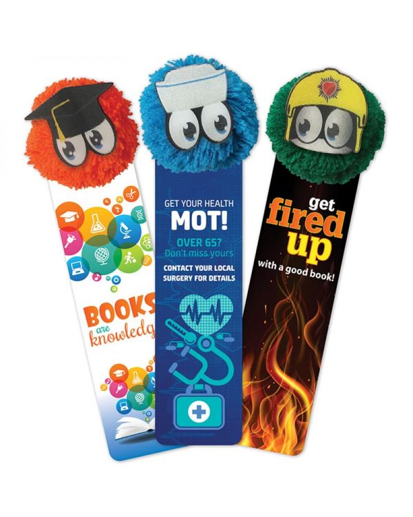 Mophead Promo-Pal Bookmarks With Animated Faces