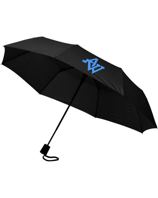 Wali 21 Inch Foldable Auto Open Umbrella