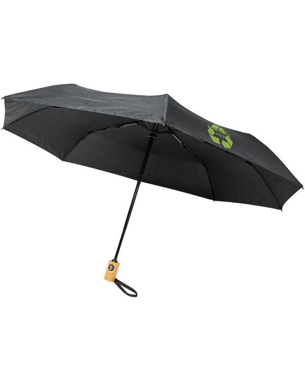 Bo 21 Inch Fold. Auto Open/Close Recycled Pet Umbrella