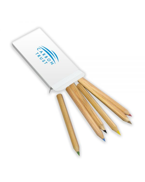 Green & Good 1/2 Size Colouring Pencils Pack - Sustainable Timber