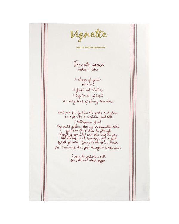 Aberdeen Cotton Recipe Tea Towel