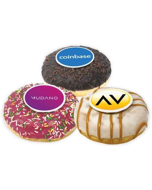 Logo Branded Doughnuts