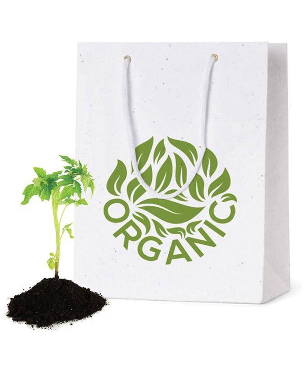 Seeded Paper Bag