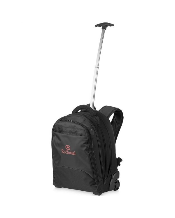 Lyns 17 Inch Laptop Trolley Backpack