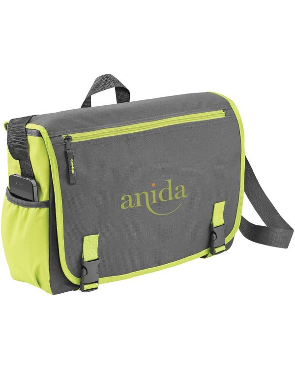"Punch 15.6"" Laptop Messenger Bag"