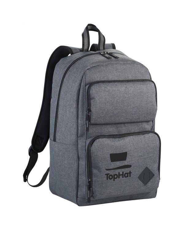 """Graphite Deluxe 15"""" Laptop Backpack"""