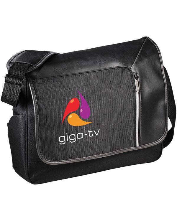 """Vault 15.6"""" Laptop Messenger With RFID Secure Pocket"""