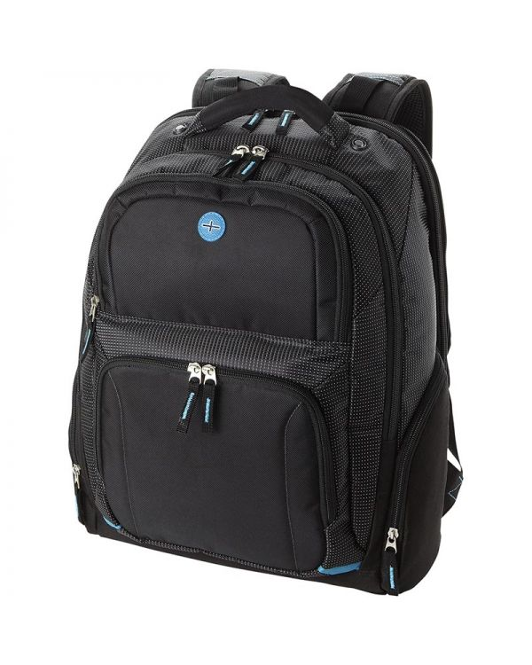 "Ty 15.4"" Checkpoint Friendly Laptop Backpack"