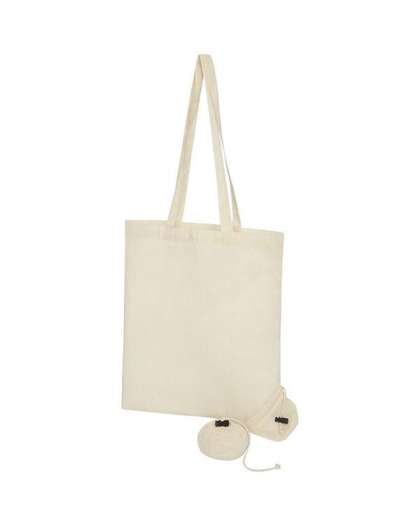 Patna 100 g/sq m Cotton Foldable Tote Bag
