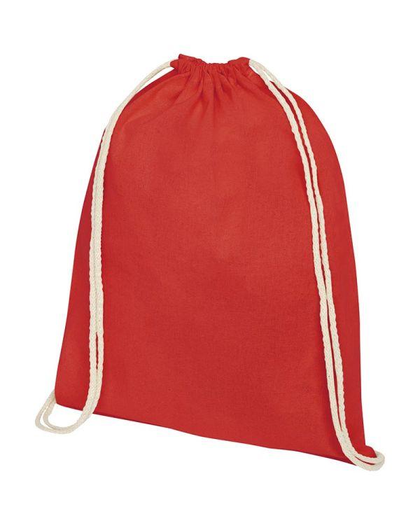 Oregon 140 g/sq m Cotton Drawstring Backpack
