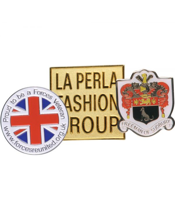 Hard Enamel Metal Badge