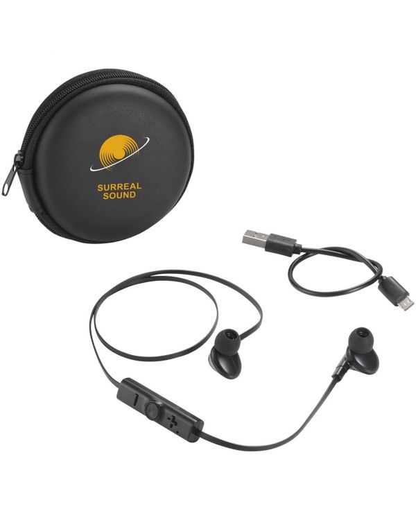 Sonic Bluetooth Earbuds With Carrying Case