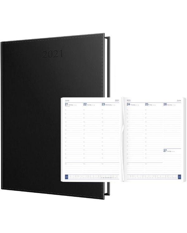 Newhide Premium A4 Quarto Desk Diary