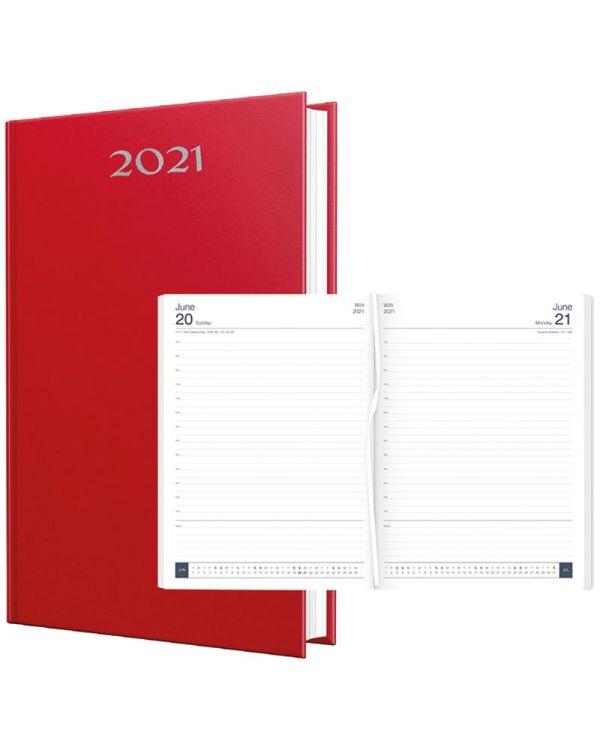 Smoothgrain A4 Desk Diary