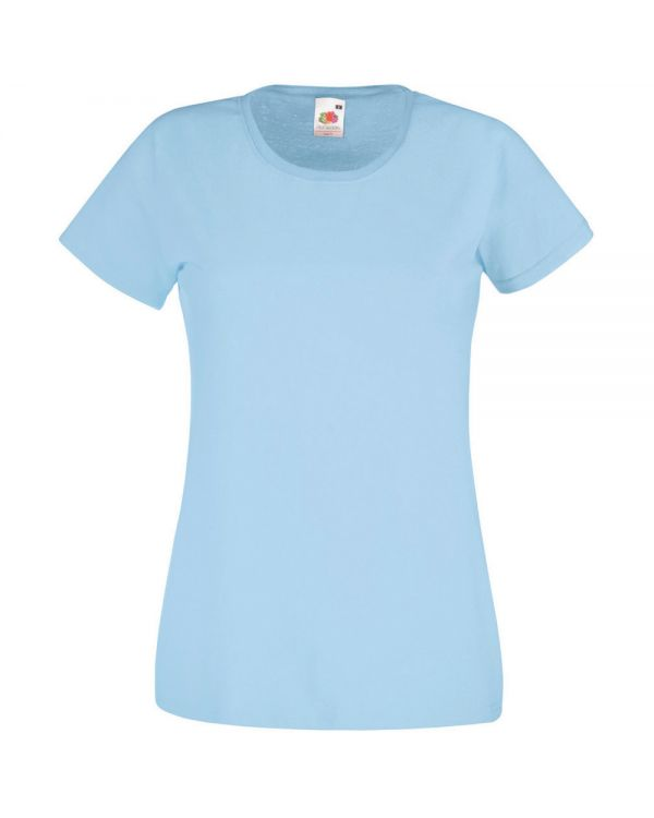 Fruit of the loom lady-fit value weight T Shirt