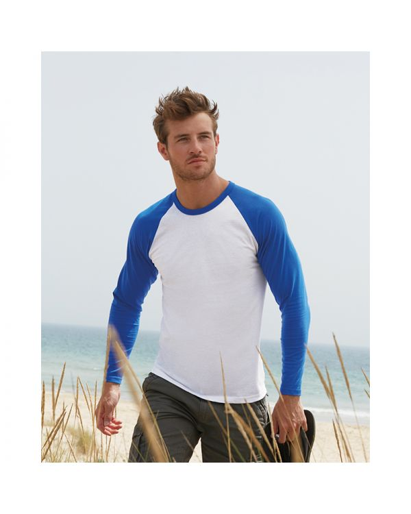 Mens Long Sleeve Baseball T Shirt